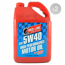 RED LINE High Performance Synthetic Motor Oil 5w-40 2 x US Gallon (7.56 litres)