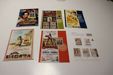 MINT 1995 CENTENARY OF CINEMA  STAMP MAXI CARD SET OF 5