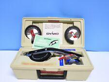 Vintage Dymo Label Maker 1570 Withcase Broken Latch
