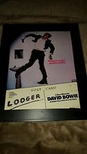 David Bowie Lodger Rare Original Promo Poster Ad Framed!