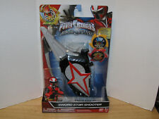 Power Rangers Ninja Steel Sword Star Shooter w/ Ninja Stars NIP VHTF