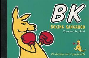 2004 Boxing Kangaroo - Prestige Booklet