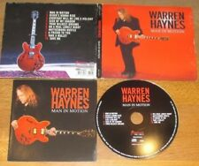 WARREN HAYNES Gov´t Mule - MAN IN MOTION  DigiPak CD