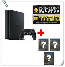 FREE 3 GAMES PS4 Slim 1TB Sony Malaysia Warranty ASIA SYSTEM CONSOLE