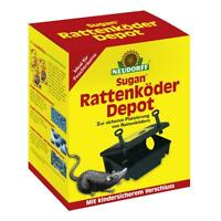 NEUDORFF - Sugan RattenköderDepot-Köderbox Giftköderbox Rattenfalle Mäuse Dose