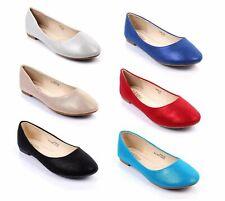6 Colores Informal Sin Cordones en sólo se reunió Gamuza Ballet Zapatos sin Taco estrecho de Boda para Mujer