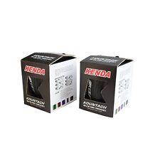 x2 KENDA Kountach K1092 700 x 23C 23-622 Road Bike Folding Tire Tyre - Black