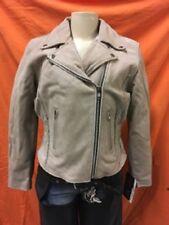 7013 Ladies Distressed Brown Jacket