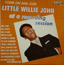 LITTLE WILLIE JOHN – At a Recording Session, KING 802 1962 LP