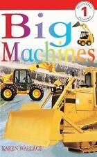 Big Machines (Turtleback School & Library Binding Edition) (DK Readers-ExLibrary