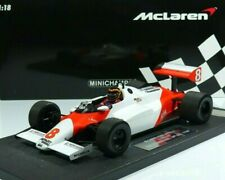 Stefan Bellof #8 McLaren Ford MP4/1C Test Silverstone GP F1 1983 1:18 Minichamps