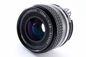 [MINT] Nikon Ai NIKKOR 35mm f/2.8 Wide Angle Lens From JAPAN139
