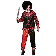 Horror Clown Halloween Horror Circus Adults Mens Fancy Dress Costume