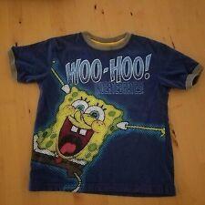 Nickelodeon Spongebob Squarepants Graphics T-shirt Size 4/5