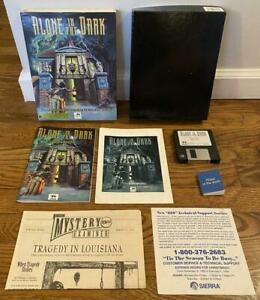 Alone In The Dark Big Box PC Game I Motion 1993 Interplay Lovecraft Complete