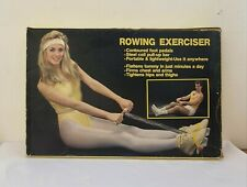 Vintage 1970s or 1980s Pink Rowing Exerciser Machine
