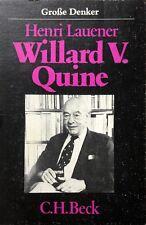 HENRI LAUENER WILLARD VAN ORMAN QUINE C.H. BECK 1982