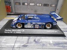 MERCEDES BENZ Sauber C9 DRM Supercup #61 Schlesser 87 Michelin Minichamps S 1:43
