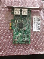 HP 615732-B21 1Gb 2-port 332T Adapter 616012-001 615730-001 Full Height