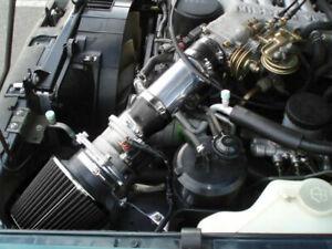 BCP BLACK 91-95 For Pathfinder PickUp 3.0L V6 XE SE Short Ram Air Intake +Filter