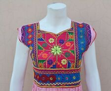 KUCHI Afghan Banjara Choli Gypsy Sleeveless Tribal women's Traditional Dress