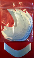 Blue Liner Lace Walker Tape Curved Strips A Shape Pkg 36 hairpiece wig toupee