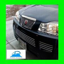 06 07 SATURN VUE CHROME TRIM FOR UPPER/LOWER GRILL GRILLE W/5YR WARRANTY