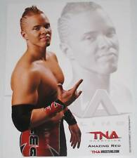 TNA AMAZING RED P-11 OFFICIAL LICENSED 8X10 PROMO PHOTO