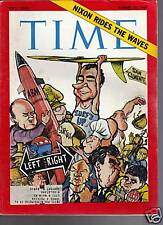 Time Magazine Nixon Rides the Waves August 15, 1969