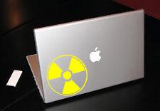 RADIOACTIVE WARNING RADIATION NUCLEAR WASTE MACBOOK CAR TABLET VINYL DECAL