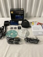 Nikon Coolpix Aw100 16.0Mp Digital Camera - Blue w Everything Included -Tested-