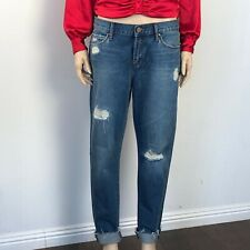 Articles of Society Jean Janis Boyfriend Distressed Wash Size 26 NWT $68