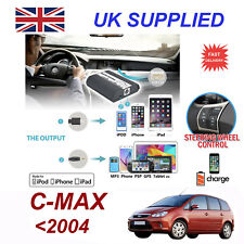 Ford CMAX MP3 iPhone 5 6 7 8 XR XS aux Input Audio Digital CD Changer Module 12p
