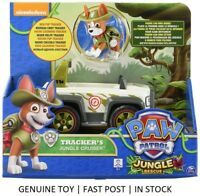 Paw Patrol Tracker's JUNGLE CRUISER + Tracker figure ~AUSSIE STOCK~~ FAST POST~~