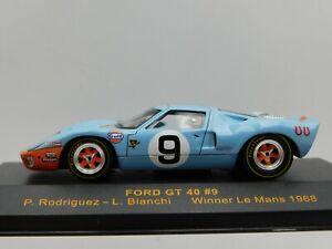 1/43 IXO 1988 Ford GT40 LeMans Winner #9 Bianchi Rodriguez #LMC025 READ