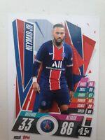 """Match Attax 19//20 /""""Neymar Jr/"""" #206 Trading Card"""