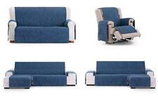funda de sofa para chaise longue azul, 1,2,3,4 plazas derecha o izquierda Eysa