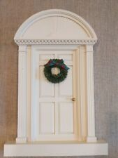 New ListingByers Choice Christmas Carolers Door Wreath Colonial Display Rare 20� x 12�