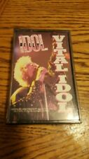 BILLY IDOL VITAL IDOL 1987 CASSETTE WITH  COA INSERT - TESTED 80s ROCK Music