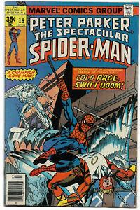 SPECTACULAR SPIDER-MAN#18 FN/VF 1978 MARVEL BRONZE AGE COMICS