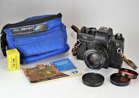 "1982 RARE USSR ""ZENIT-19"" HALF-AUTOMATIC SLR camera + HELIOS-44M lens (1)"