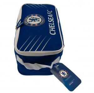 Chelsea FC Official Bootbag Gym Bag Football Boots bag Zipped School P.E Kit