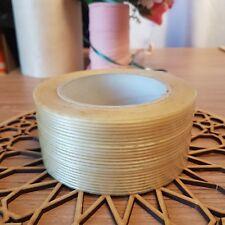 50mm X 50m Fibre Gl Fibergl Cricket Bat Repair Tape Strip Insulating Gold
