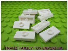 New LEGO Jumper Plates Lot of 10 White 1x2 with 1 Stud Star Wars Part 3794