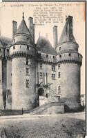 CPA 37 - Langeais l'entrée du chateau