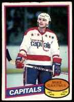 1980-81 O-Pee-Chee Mike Gartner Rookie . #195