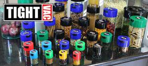 Tightvac Airtight Stash Pot Herb Food Coffee Storage All Sizes - FREE POST