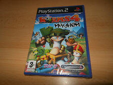 PS2 Worms 4 Mayhem, UK Pal,  New  Sony Factory Sealed