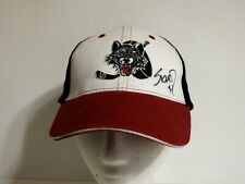 Ahl Chicago Wolves Hockey Adjustable Hat Cap - One Size Fits Most - New