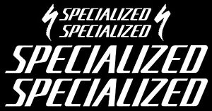 specialized matte gold stickers vinyl decals graphics frame bicycle set emblem